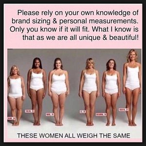 Dresses & Skirts - Know your size in different labels!